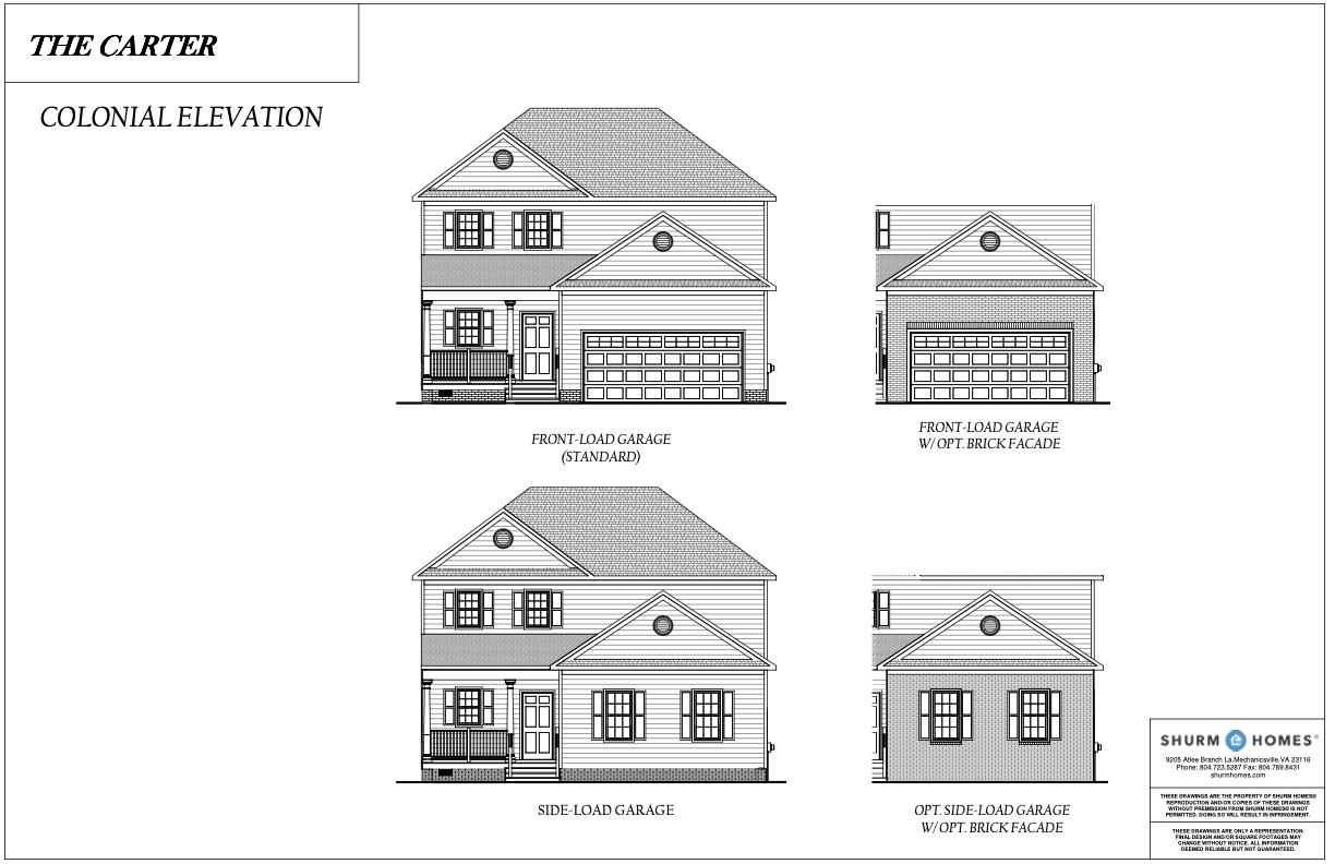 Colonial Elevation